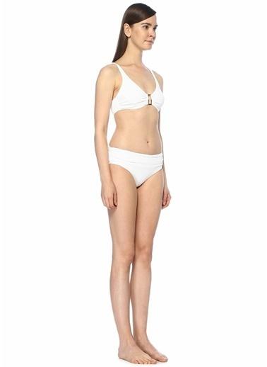 Melissa Odabash Pike Dokulu Bikini Takım Beyaz